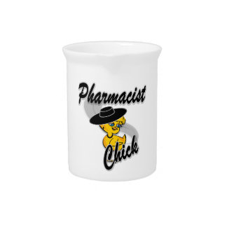 Pharmacists Chick #4 Drink Pitcher