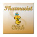 Pharmacists Chick Ceramic Tile