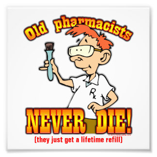 Pharmacists Photo Print