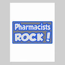 Pharmacists Rock! Postcard