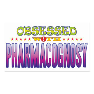 Pharmacognosy 2 Obsessed Pack Of Standard Business Cards