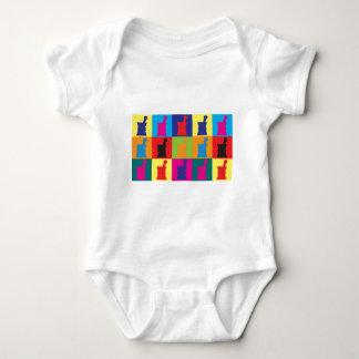 Pharmacology Pop Art Baby Bodysuit