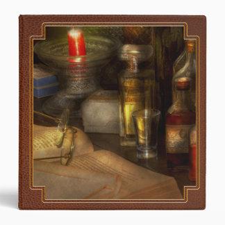 Pharmacy - A long tiring night Vinyl Binder
