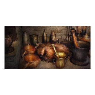 Pharmacy - Alchemist's kitchen Customized Photo Card