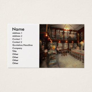 Pharmacy - Bertrams ghosts 1909 Business Card