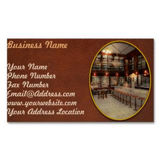 Pharmacy - Bertrams ghosts 1909 Magnetic Business Card