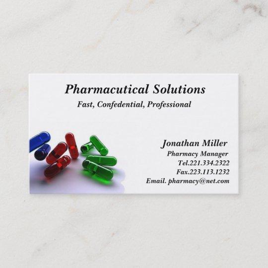 Pharmacy business card pharmacist zazzle pharmacy business card pharmacist colourmoves