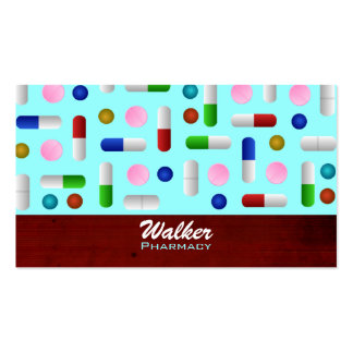 Pharmacy Business Cards -color changeable