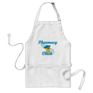 Pharmacy Chick #3 Adult Apron