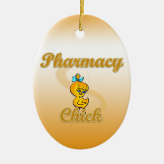 Pharmacy Chick Ornament