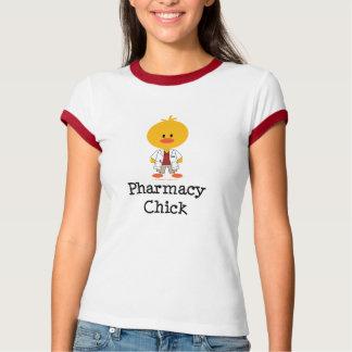 Pharmacy Chick Ringer T shirt