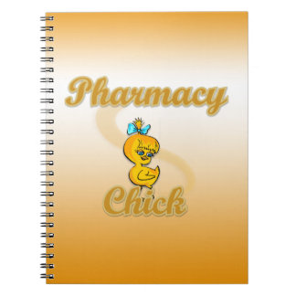Pharmacy Chick Spiral Notebook