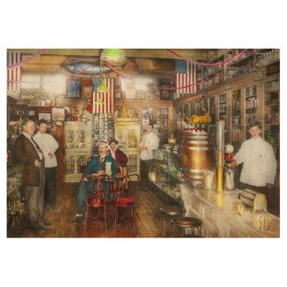 Pharmacy - Collins Pharmacy 1915 Wood Poster