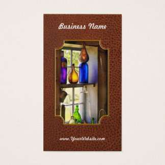 Pharmacy - Colorful glassware Business Card