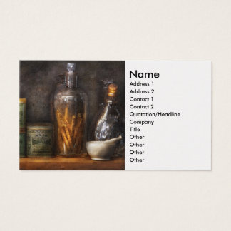 Pharmacy - Cough Drops & Kidney Pills Business Card