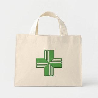 Pharmacy Cross Mini Tote Bag