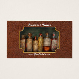 Pharmacy - Daily Remedies Business Card