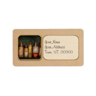 Pharmacy - Daily Remedies Address Label