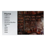 Pharmacy - Equipment - Merlin's Study Double-Sided Standard Business Cards (Pack Of 100)