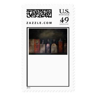 Pharmacy - Feel good medicine Postage Stamp
