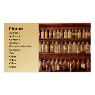 Pharmacy - For Medicinal Use Only Business Card Template