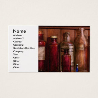 Pharmacy - From Antacids to Antiseptics Business Card