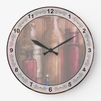 Pharmacy - From Antacids to Antiseptics Wall Clock