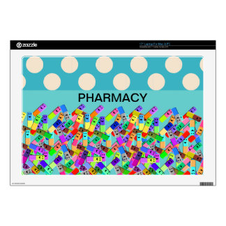 "Pharmacy ""Happy Pills"" Design Skins For Laptops"
