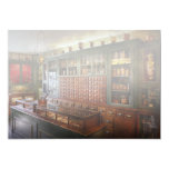 """Pharmacy - I'll be out in a minute 5"""" X 7"""" Invitation Card"""