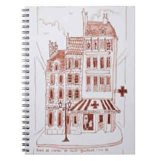 Pharmacy in Old Town | Boulogne-Sur-Mer, France Notebook