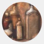 Pharmacy - Indigestion Remedies Classic Round Sticker