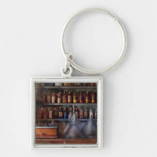 Pharmacy - Master of many trades Silver-Colored Square Keychain