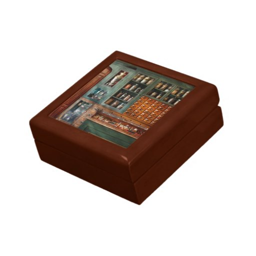 Pharmacy - Medicine - Pharmaceutical remedies Jewelry Boxes