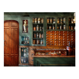 Pharmacy - Medicine - Pharmaceutical remedies Postcard