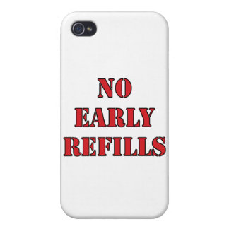 Pharmacy - No Early Refills iPhone 4/4S Case