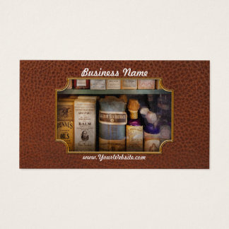 Pharmacy - Oils and Balms Business Card