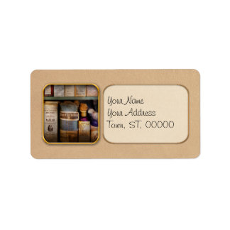 Pharmacy - Oils and Balms Personalized Address Label