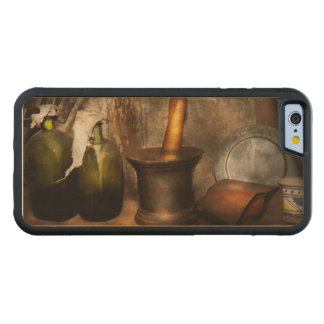 Pharmacy - Pestle - Home remedies Carved Maple iPhone 6 Bumper Case