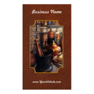 Pharmacy - Pestle - Pharmacology Business Card
