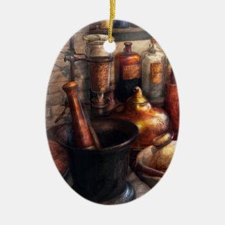 Pharmacy - Pestle - Pharmacology Ceramic Ornament