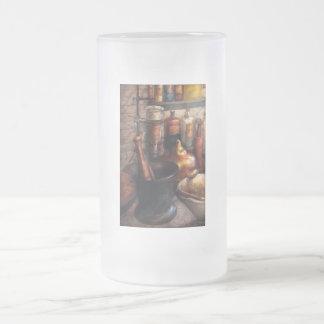 Pharmacy - Pestle - Pharmacology Frosted Glass Beer Mug