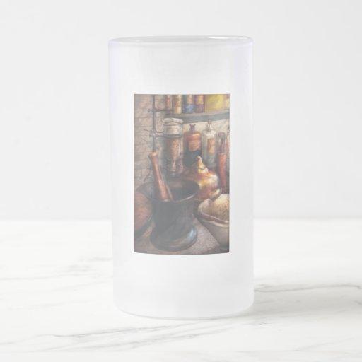Pharmacy - Pestle - Pharmacology 16 Oz Frosted Glass Beer Mug