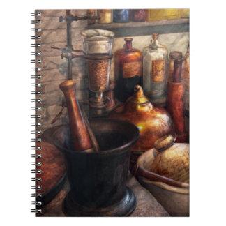 Pharmacy - Pestle - Pharmacology Spiral Notebook