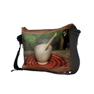 Pharmacy - Pestle - The herbalist Courier Bag