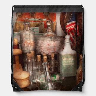 Pharmacy - Pharmaceutical Science Drawstring Backpack