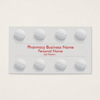 Pharmacy Pharmacist Business Drug Store Business Card