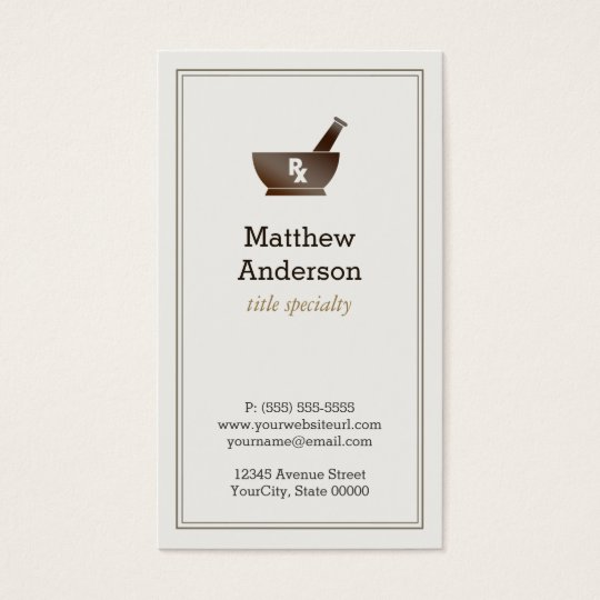 Medical Student Business Cards Templates Zazzle - Student business cards templates
