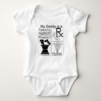 Pharmacy Pharmacist LOGO Baby Bodysuit
