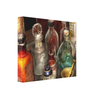Pharmacy - Pick your poison Canvas Print