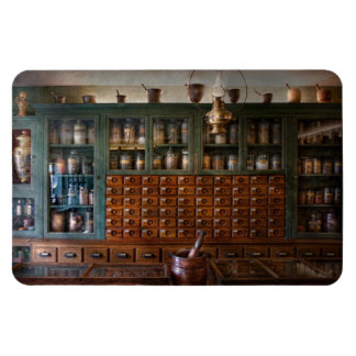 Pharmacy - Right behind the counter Magnet